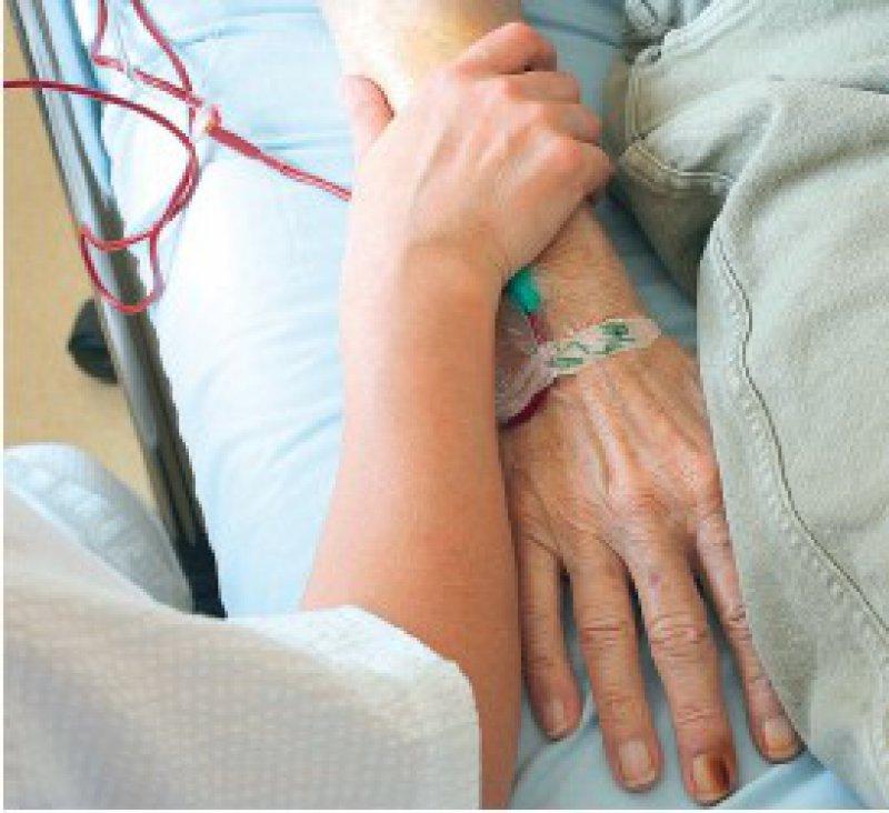 Eine gute Palliativversorgung konnte in Europa bisher noch nicht flächendeckend eingeführt werden. Foto: dpa