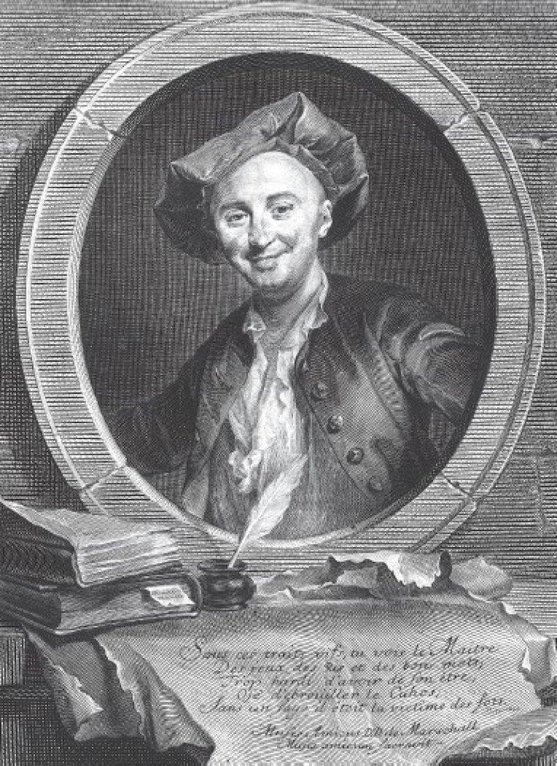 Ein Arzt des 18. Jahrhunderts, dessen Schriften die Zensur in Frankreich verbrennen lässt. Foto: picture alliance-maxppp
