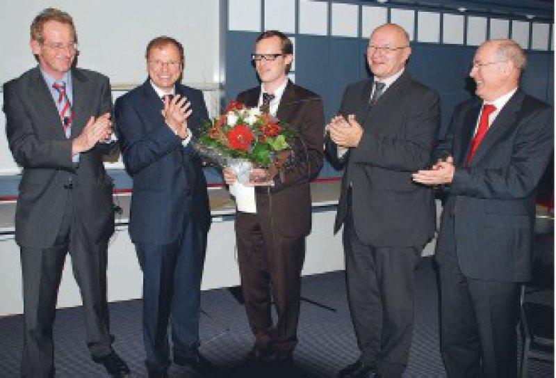 Erhard Schmidt, Manfred Pusdrowski, Dominik Hartl, Frieder Gebhardt und Johannes Löwer (von links) Foto: Paul-Ehrlich-Institut