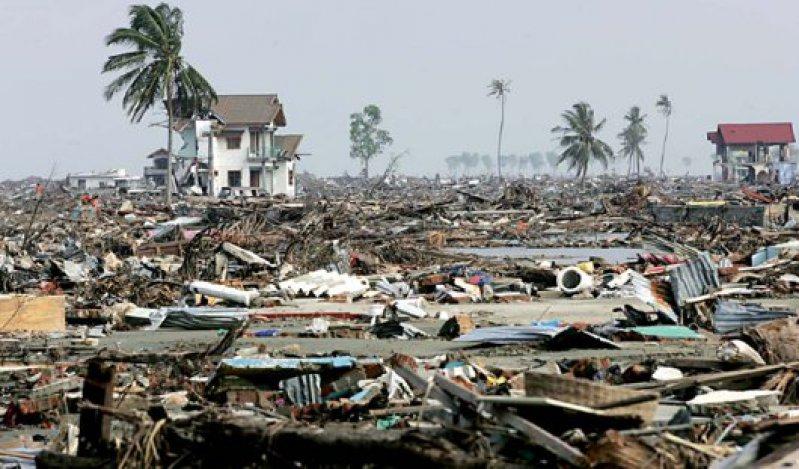 Beispiellose Zerstörung hinterließ der Tsunami 2004 im indonesischen Aceh –2009 ist die Region weitgehend wiederaufgebaut. Foto: Caro
