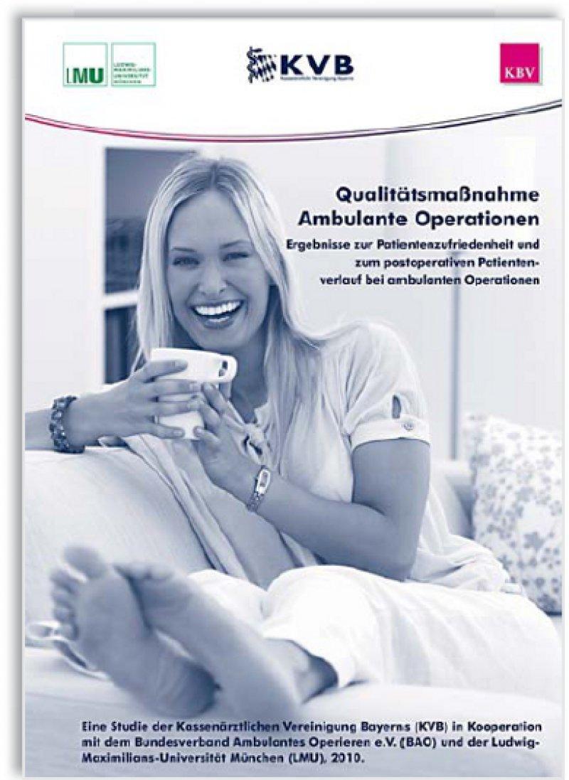 Alles gut gelaufen – Details zur Patientenzufriedenheit sind in einer Broschüre zu finden, die einem Teil der Auflage beiliegt.