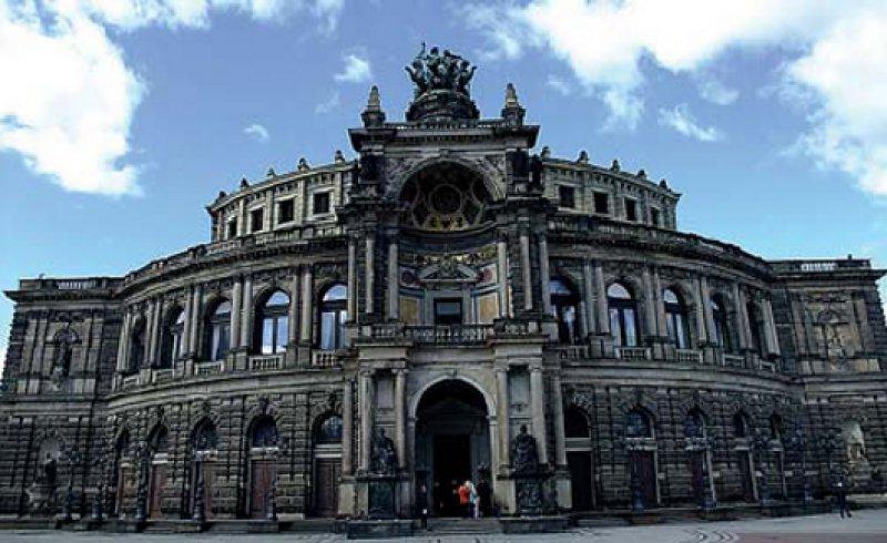 Die Semperoper in Dresden. Foto: Wolfgang Ferch