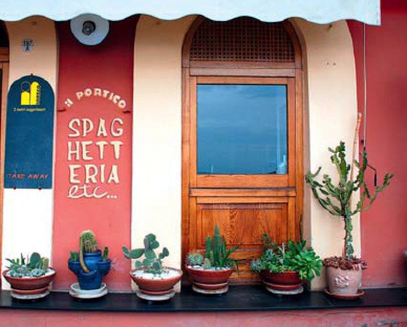 Pasta und Meeresfrüchte stehen auf der ligurischen Speisekarte ganz oben. Fotos: Sigrid Mölck-Del Giudice