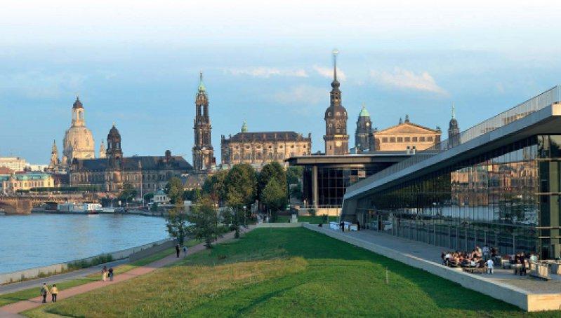 Ein Großteil der Dresdener Altstadt konnte originalgetreu rekonstruiert werden. Foto: Frank Exß