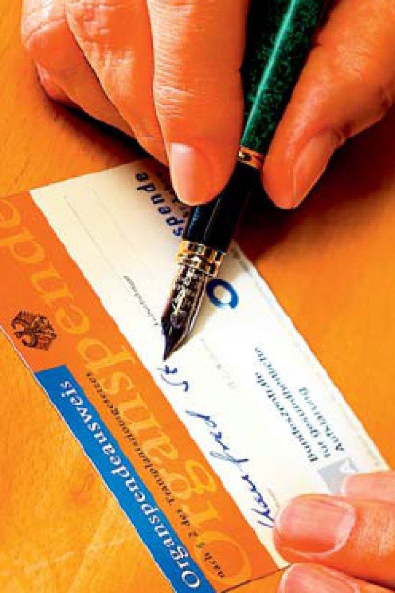 Freiwillig und unentgeltlich soll die Spende sein. Dieses Prinzip wird verbindlich festgeschrieben.