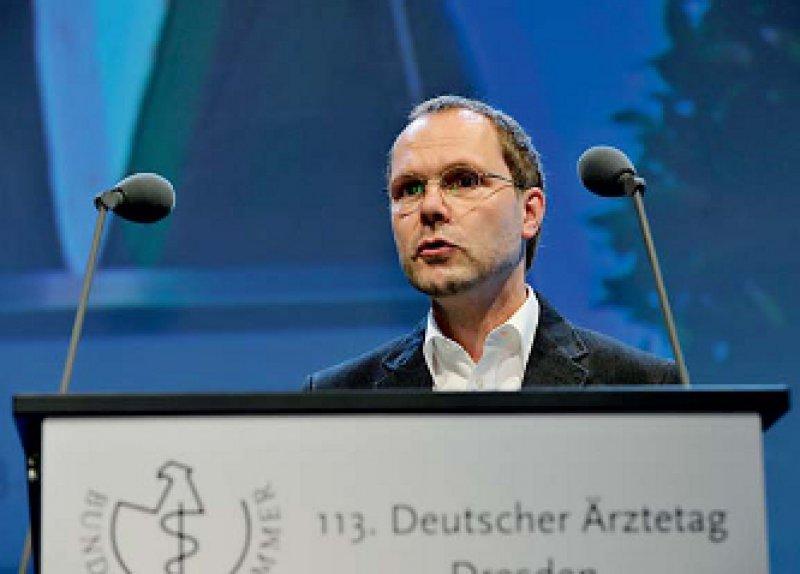 Thomas Schröter forderte erfolgreich eine Legaldefinition der fachärztlichen Versorgung für das SGB V.