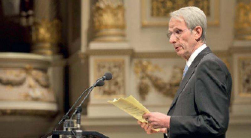 Der Legalisierung der aktiven Sterbehilfe erteilte BÄK-Präsident Jörg-Dietrich Hoppe eine klare Absage.