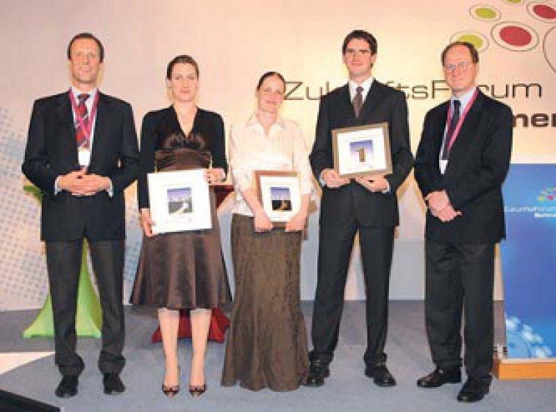 Stefan Grond, Astrid Althaus, Ulrike Kaiser, Falk von Dincklage, Michael Zimmermann (von links). Foto: Janssen-Cilag GmbH, Neuss