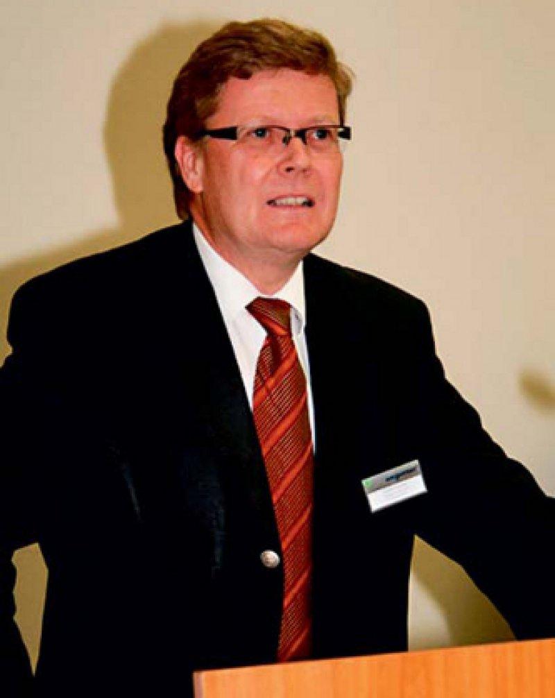"""Als """"solide Basis"""" bezeichnete Ministerialdirigent Norbert Paland die neue Aufgabenverteilung in der Gematik. Foto: Wegweiser Media & Conferences GmbH Berlin"""