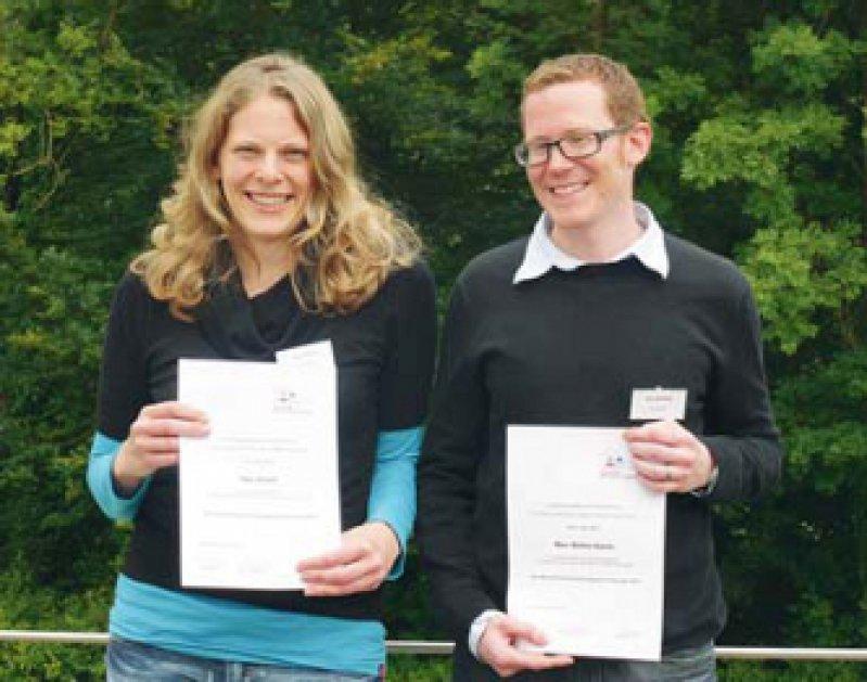 Inga Jensch und Marc Burian. Foto: Kempf