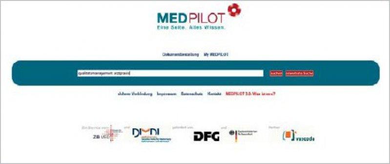 www.medpilot.de (Suchmaske)