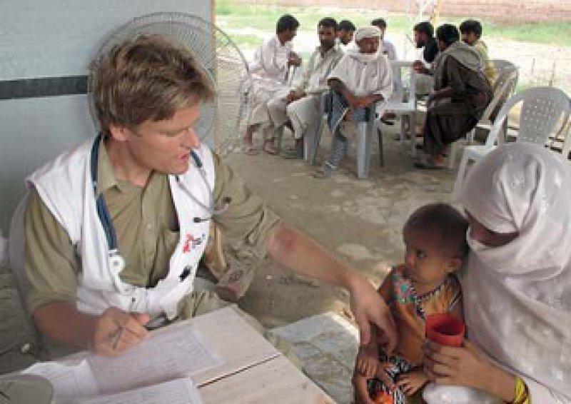 Andauernde Hilfe: Vor allem Kinder sind von Mangelernährung bedroht. Foto: MSV
