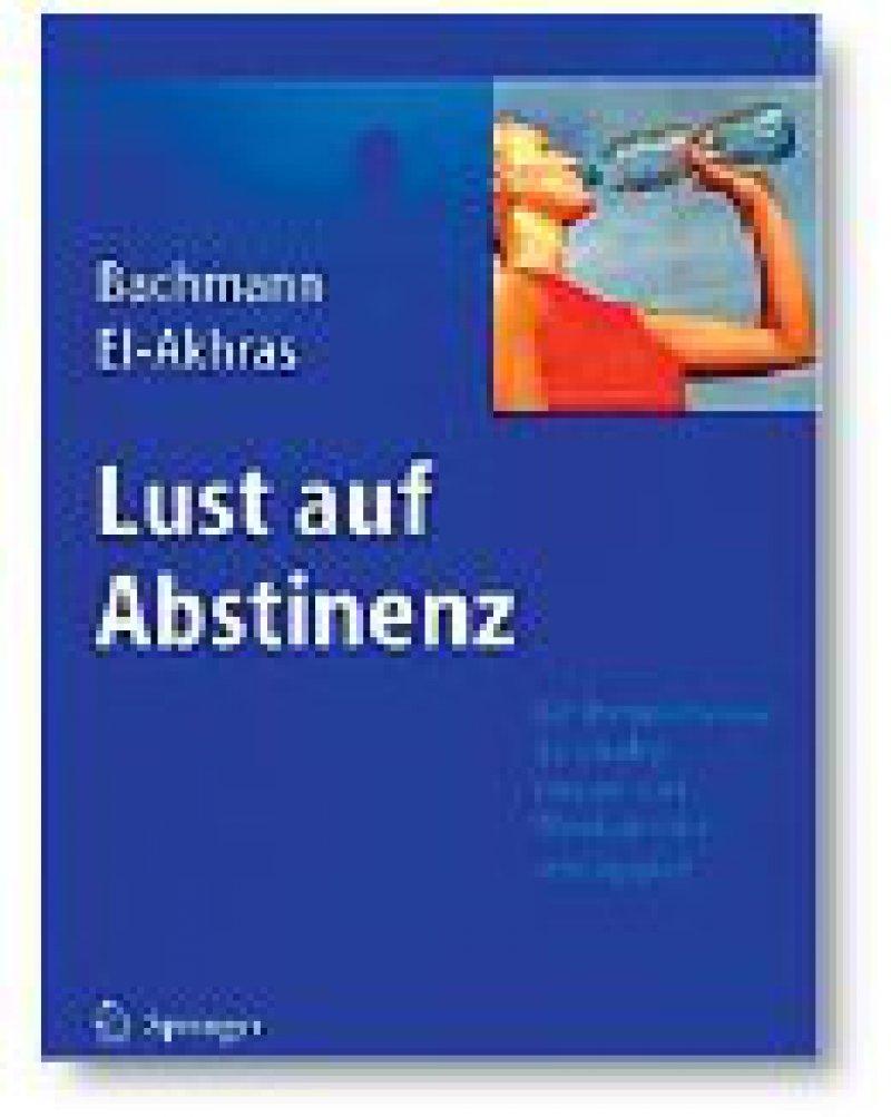Meinolf Bachmann, Andrada El-Akhras: Lust auf Abstinenz. Ein Therapiemanual bei Alkohol-, Drogen- und Medikamenten - abhängigkeit. Springer Medizin Verlag, Heidelberg 2009, 179 Seiten, kartoniert, 39,95 Euro