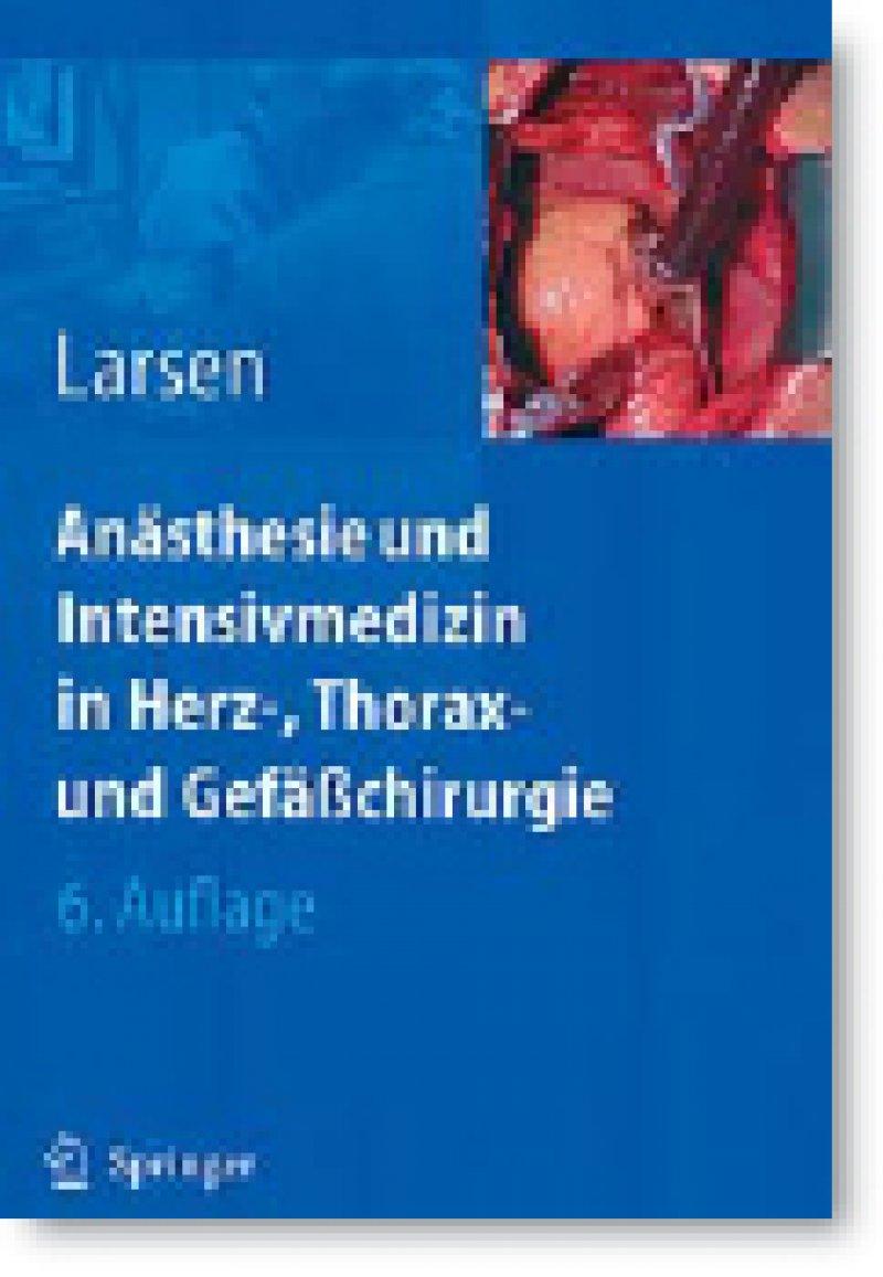 Reinhard Larsen: Anästhesie und Intensivmedizin in der Herz-, Thorax- und Gefäßchirurgie. 7. Auflage. Springer, Heidelberg 2009, 458 Seiten, gebunden, 64,95 Euro