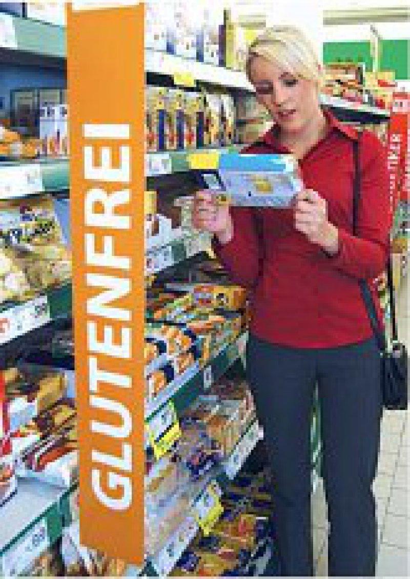 Glutenhaltige Nahrungsmittel sind für Zöliakiepatienten unverträglich. Viele Supermärkte haben sich darauf eingestellt.Foto: vario images
