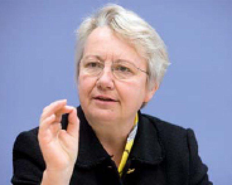 Annette Schavan: Die bisher höchste Summe für die Förderung der Versorgungsforschung. Foto: Photothek