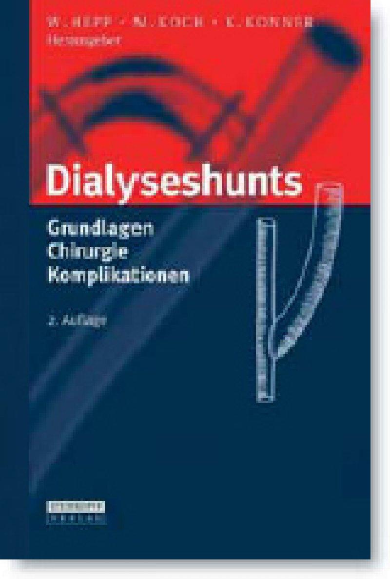 Wolfgang Hepp, Michael Koch, Klaus Konner (Hrsg.): Dialyse - shunts. Grundlagen, Chirurgie, Komplikationen. 2. Auflage. Steinkopff, Heidelberg 2009, 441 Seiten, gebunden, 99,95 Euro