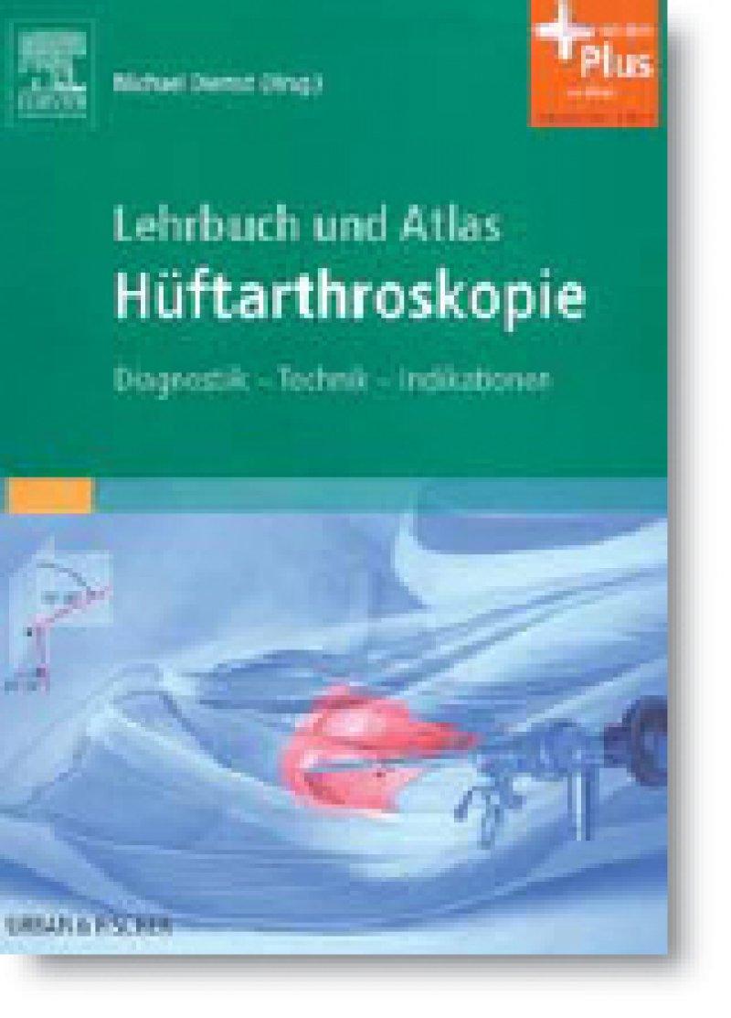 Michael Dienst (Hrsg.): Lehrbuch und Atlas Hüftarthroskopie. Diagnostik – Technik – Indikationen. Urban & Fischer, Elsevier GmbH, München 2010, 444 Seiten, gebunden, 199 Euro