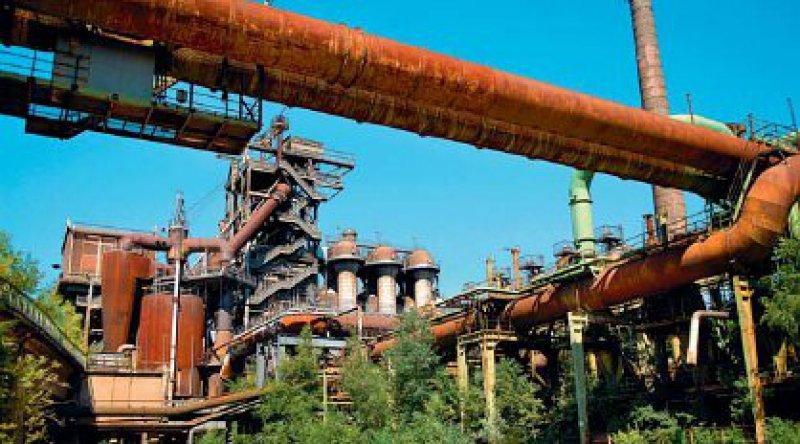 """""""Von wegen grau"""": Die Zeche Zollverein zählt zum UNESCO-Weltkulturerbe.Foto: Manfred Vollmer"""