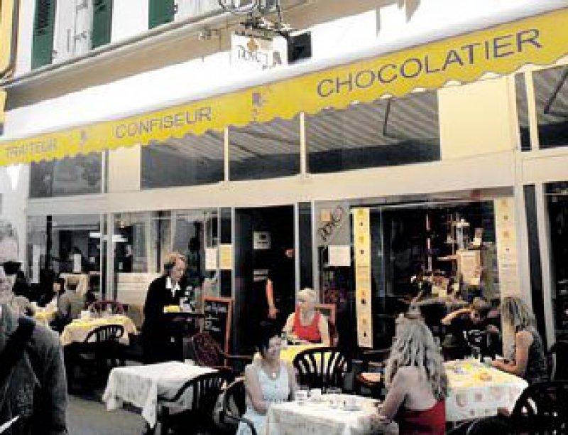 Café Poyet: Feinste Zutaten und avangardistische Rezepturenerwarten die Genießer. Foto: Thomas Meins