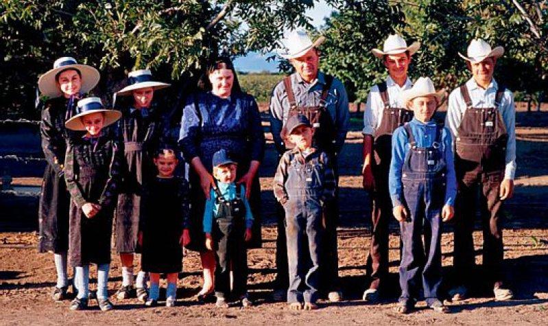 Jenseits der Gegenwart: Die Mennoniten haben sich dem einfachen Leben verschrieben. Foto: laif