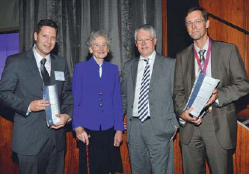 Jens Volkmann, Isolde Dingebauer, Heinz Reichmann und Thomas Gasser (von links). Fotos: Seehafer