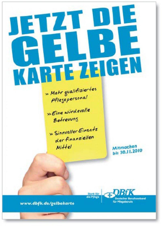 Gelb für Schwarz- Gelb: Mehr als 10 000 Protestkarten sollen bereits im Kanzleramt eingegangen sein.