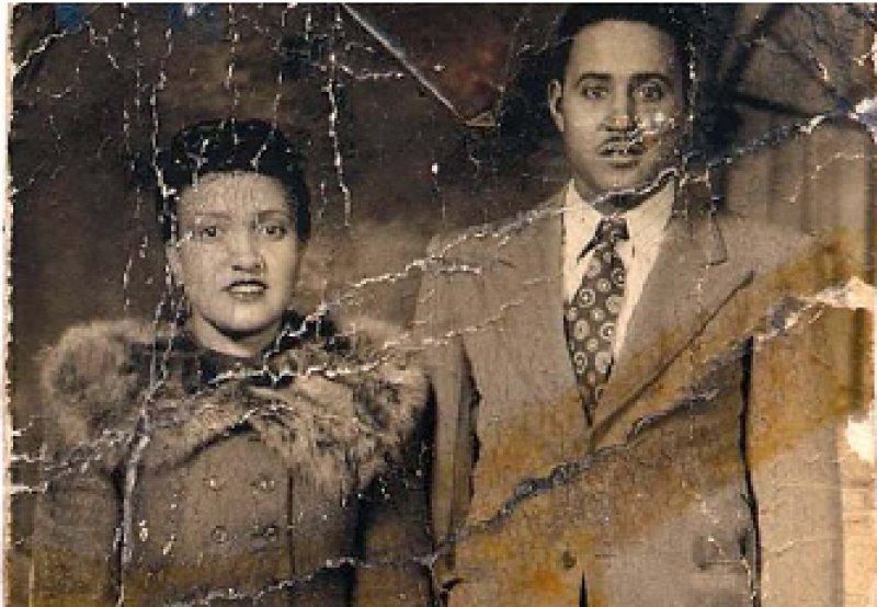Henrietta Lacks und ihr Mann David im Jahr 1945. Henrietta starb 1951 nach einer Tumorerkrankung. Foto: Lacks Family