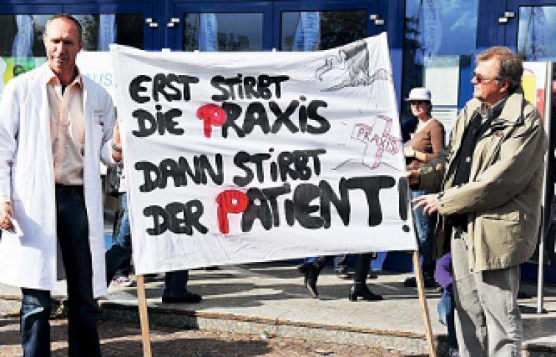 Der Ärger hält an: Die bayerischen Hausärzte erwägen nach wie vor den Systemausstieg. Foto: Klaus Rose
