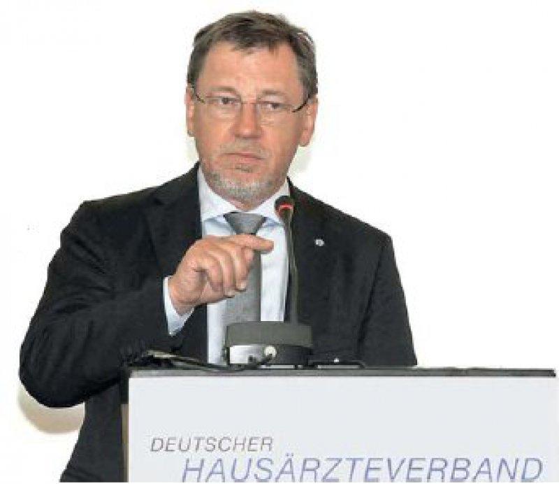 """Für Verbandschef Ulrich Weigeldt ist die Gründung der """"Freien Allianz der Länder-KVen"""" ein Schritt in die richtige Richtung. Foto: HÄV"""