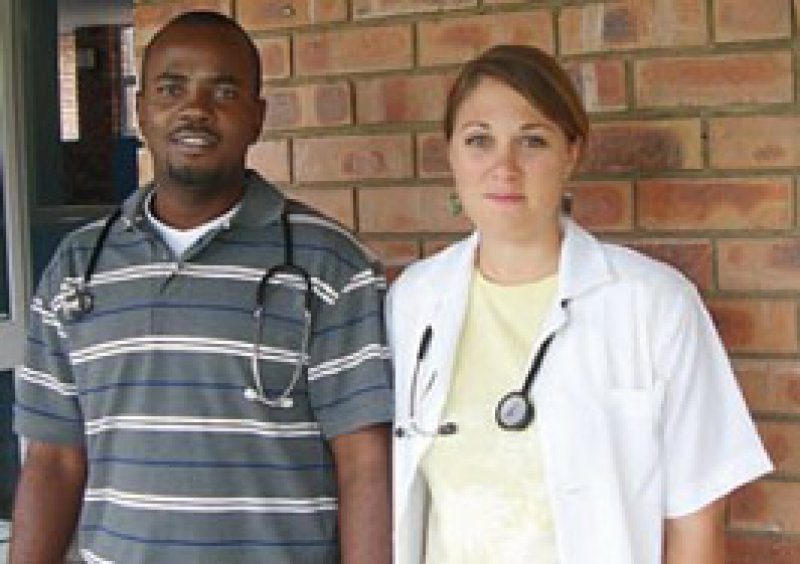 In einer ländlichen Gegend um Durban arbeitete Friederike Schlingloff vier Monate an staatlichen Krankenhäusern. Foto: privat