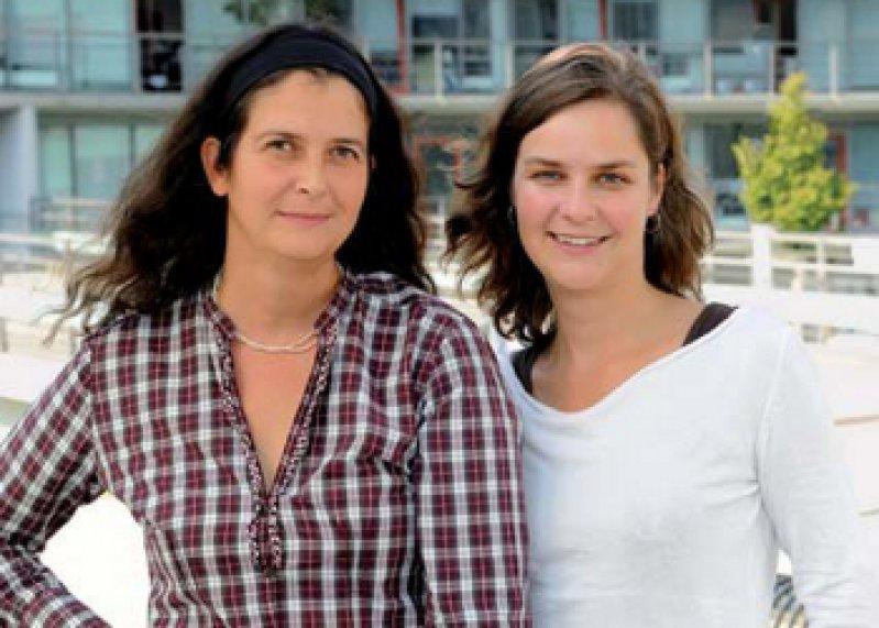 Elisabeth Mangold und Kerstin U. Ludwig (von links). Foto: Institut für Humangenetik, Universität Bonn