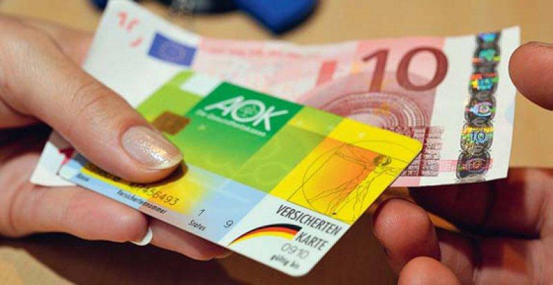 Zehn Euro beim ersten Besuch im Quartal: Dabei soll es aus Sicht von Bundeskanzlerin Merkel bleiben. Foto: dapd