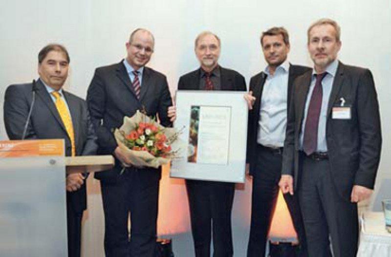 Peter Reichardt, Lars Steinsträßer, Peter Hohenberger, Thomas Brodowicz und Robby Woitke (von links). Foto: Uli Deck