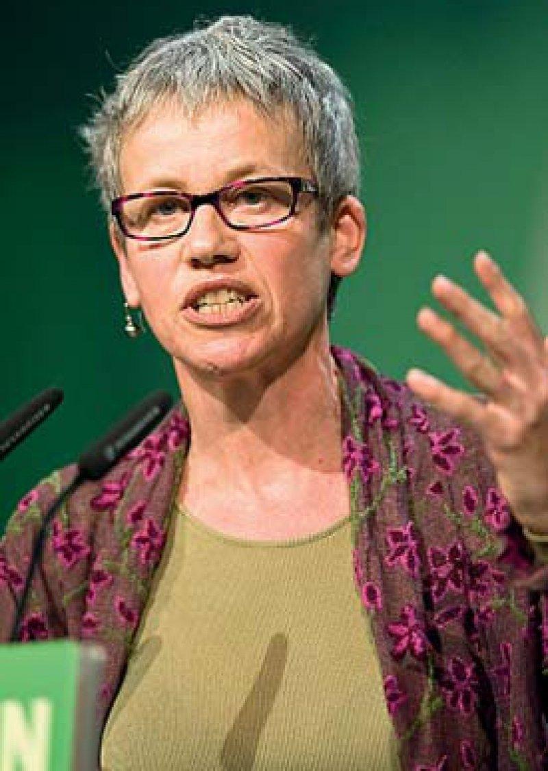 """""""Die Bundesregierung will eine neue Bedarfsplanung umsetzen, ohne dass zuverlässige Zahlen über das Ist existieren."""" Birgitt Bender, Foto: picture alliance"""
