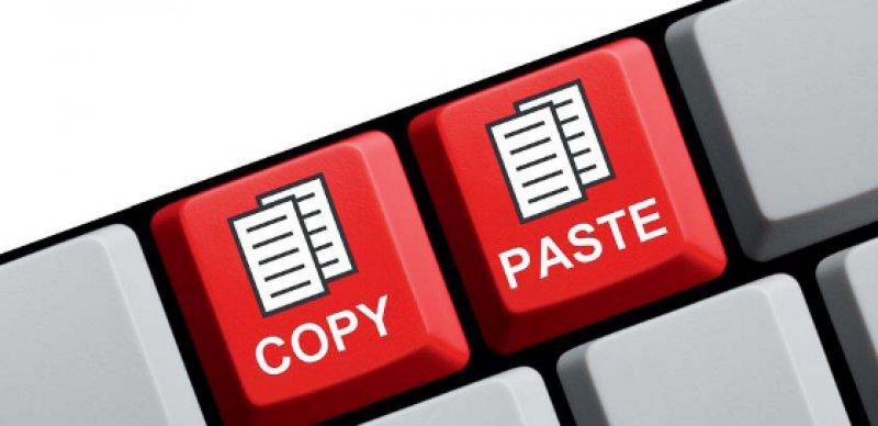 """Vorsicht bei """"Copy & Paste"""" von urheberrechtlich geschützten fremden Quellen – die Verwendung etwa in Online-Pressespiegeln kann teuer werden. Foto: Fotolia/kebox"""