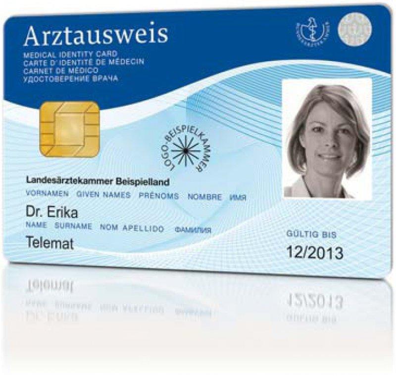 Neue Funktion des Ausweises: Niedergelassene Ärzte in Sachsen können ihre Abrechnung komplett elektronisch vornehmen. Foto: medisign