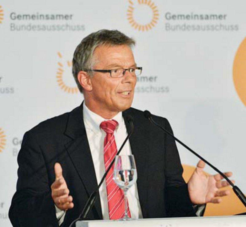 Mit Elan ins neue Amt: Josef Hecken ist zuversichtlich, dass der G-BA noch in diesem Jahr die Bedarfsplanungsrichtlinie vorlegt. Foto: Georg J. Lopata