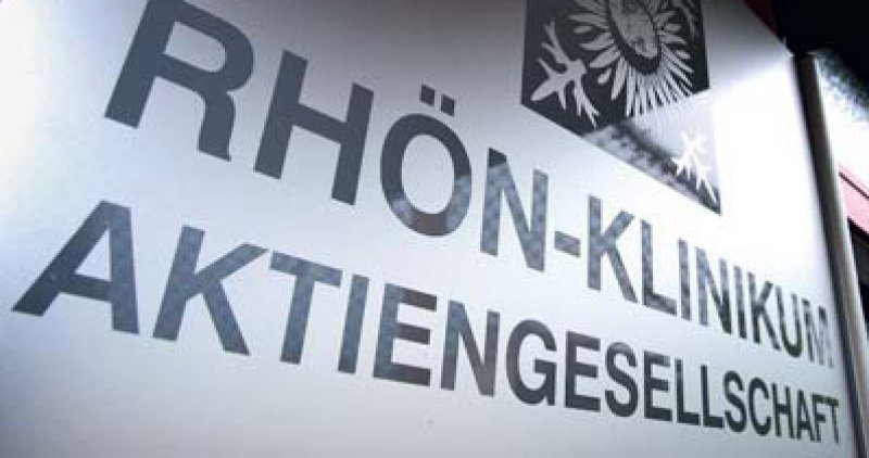 Objekt der Begierde: Fresenius, Asklepios, Sana und B. Braun Melsungen halten Anteile an Rhön. Foto: dpa