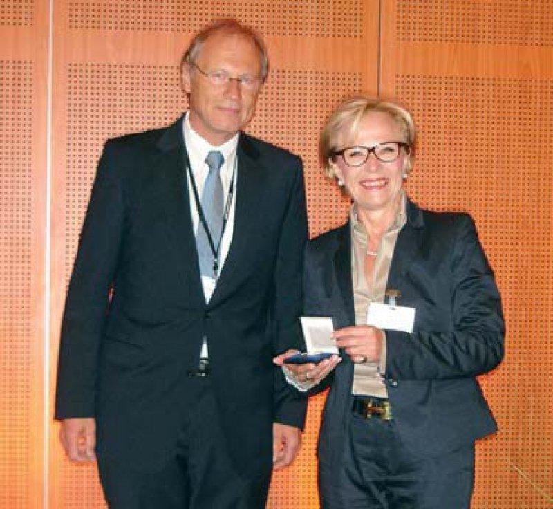 Harry Hahmann und Christiane Korsukéwitz, Foto: DGPR