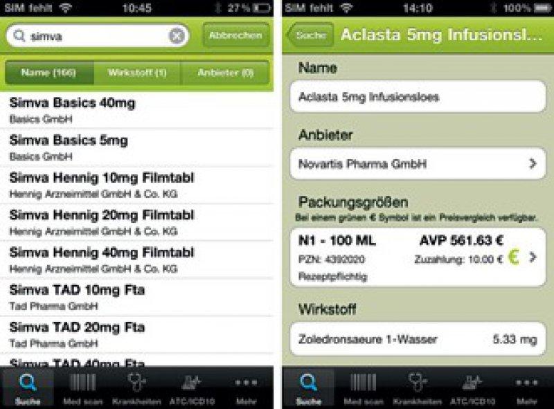 Arznei aktuell (IFAP GmbH): geeignet für iPhone und Androidgeräte, kostenfrei