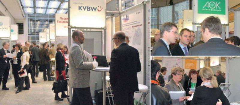 Ausschau nach Innovationen: Auch Bundesgesundheitsminister Daniel Bahr (Foto oben rechts) informierte sich über neuartige Versorgungskonzepte. Fotos: KBV
