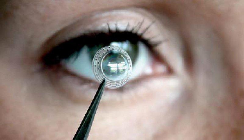 Künstliche Linse für vielerlei Krankheitsbilder. Foto: Fraunhofer-IAP