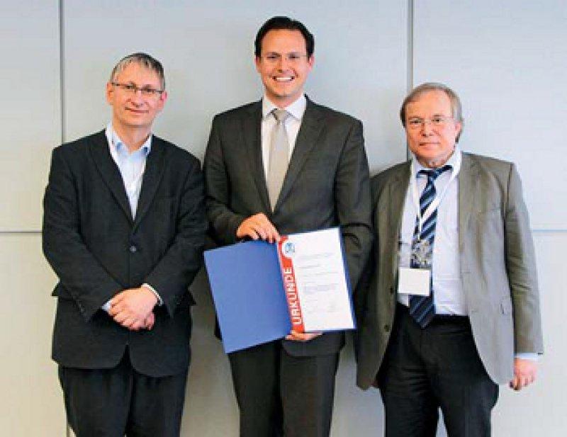 Tobias Welte, Michael Arzt und Heinrich Worth (von links), Foto: Sabine Dziewas