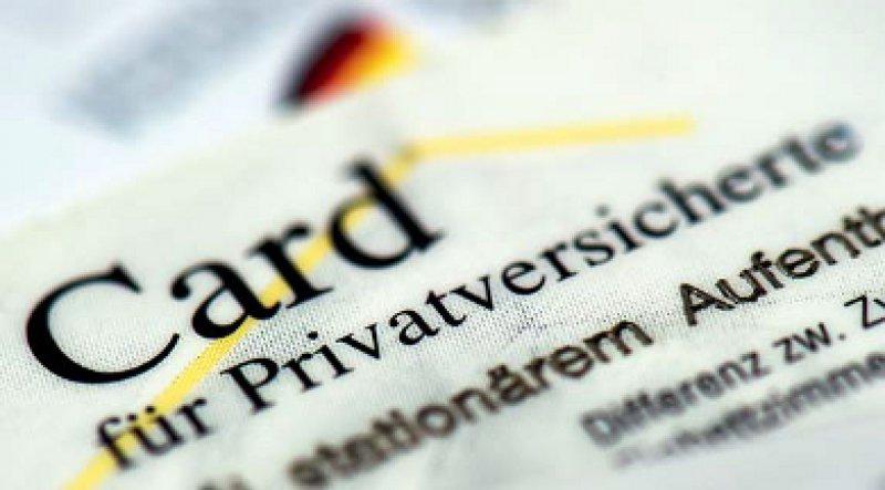 Bei den Zusatzversicherungen gab es 2012 einen Zuwachs. Foto: picture alliance