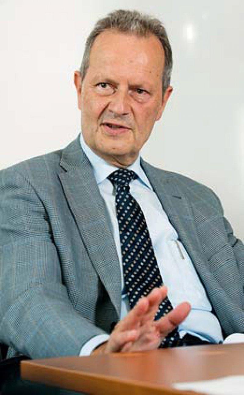 Kammerpräsident Jan Schulze verlangt eine Diskussion über die Entschädigung der Opfer. Foto: Svea Pietschmann