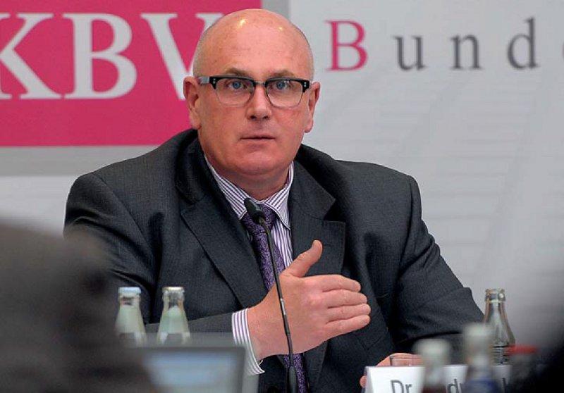 Zu viel Verwaltung, zu wenig Selbstbestimmung – KBV-Vorstand Andreas Köhler schlug in seinem Bericht auch selbstkritische Töne an. Fotos: Jürgen Gebhardt