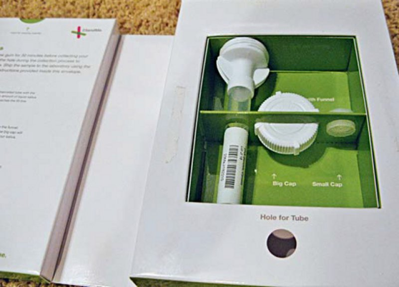 Der Gentest wird per E-Mail bestellt – nach wenigen Tagen kommt ein Paket mit genauer Anleitung, wie die Speichelprobe abzugeben ist. Foto: flickr