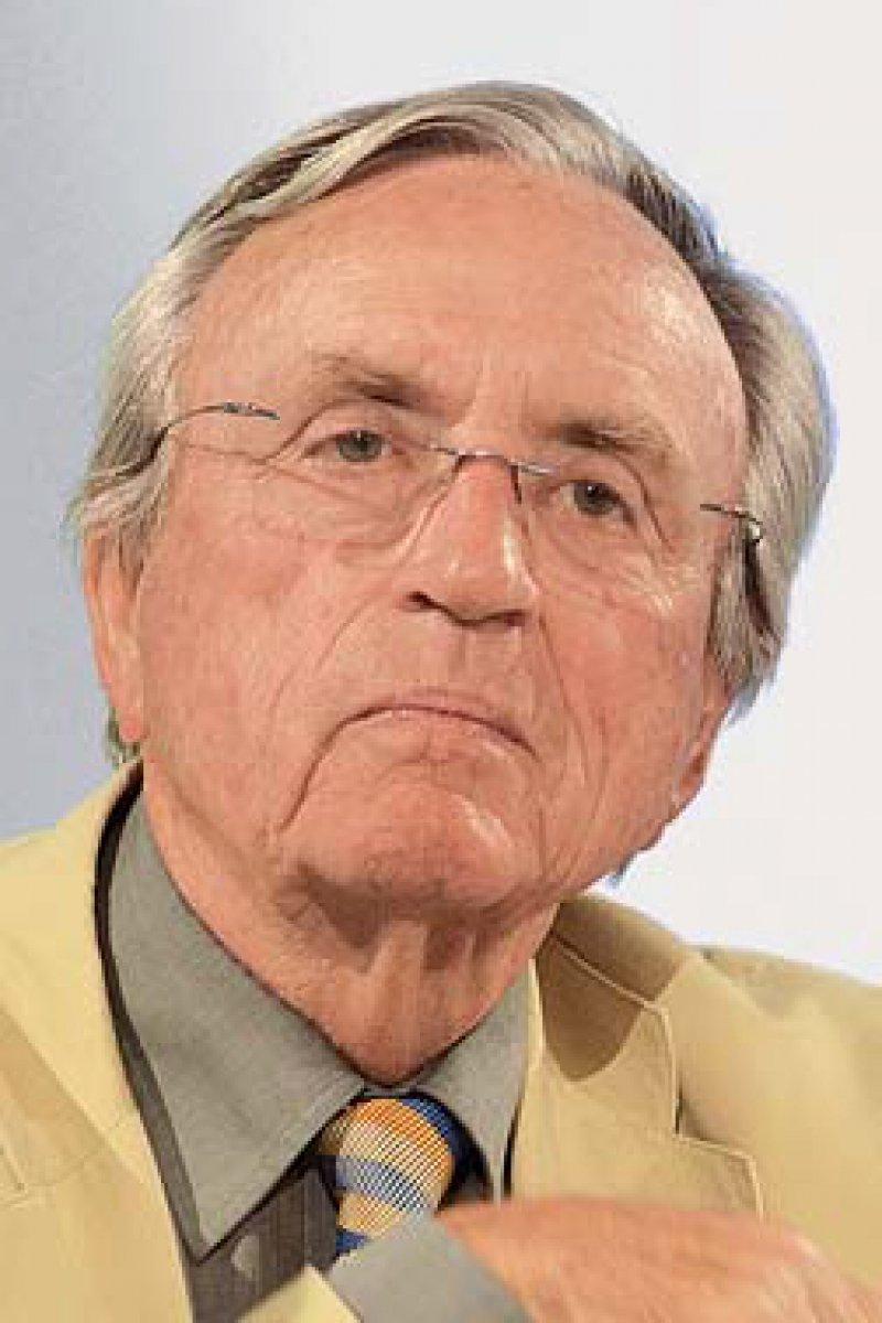 Prof. Dr. med. Hermann Hepp war an vielen Stellungnahmen zu In-vitro-Fertilisation und Präimplantationsdiagnostik beteiligt. Außerdem hat er die Aufarbeitung der Rolle der Frauenärzte in der NS-Zeit vorangetrieben. Foto: Akademie Bayern