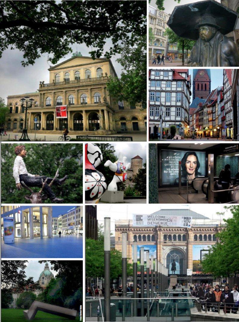 Die niedersächsische Metropole mit 523 500 Einwohnern erwies sich als gute Gastgeberin des 116. Deutschen Ärztetages. Wer sich für die Stadt ein wenig Zeit nahm, wurde nicht enttäuscht. Fotos: Eberhard Hahne